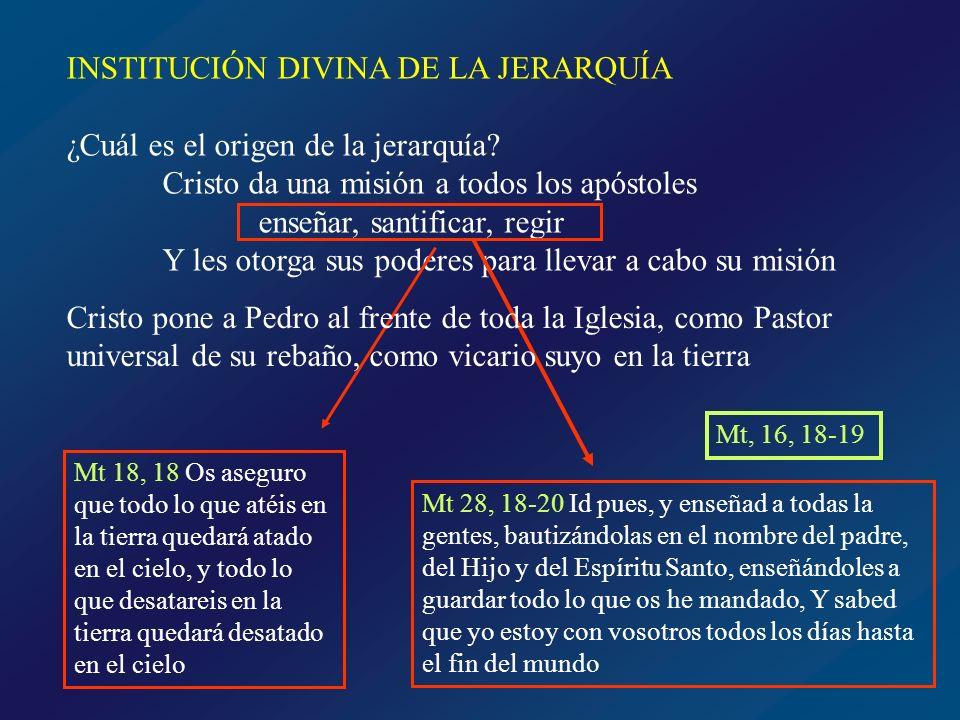 ¿Cómo vivieron los apóstoles su función jerárquica.