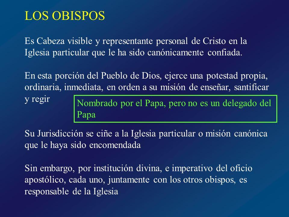 PRESBÍTEROS Y DIÁCONOS Presbíteros Segundo grado del Orden Coinciden con los obispos en el honor del sacerdocio ministerial, pero dependen de ellos en el ejercicio de sus potestades Colaboradores y consejeros del lo obispos No forman colegio universal, dentro de la Iglesia particular, forman su presbiterio