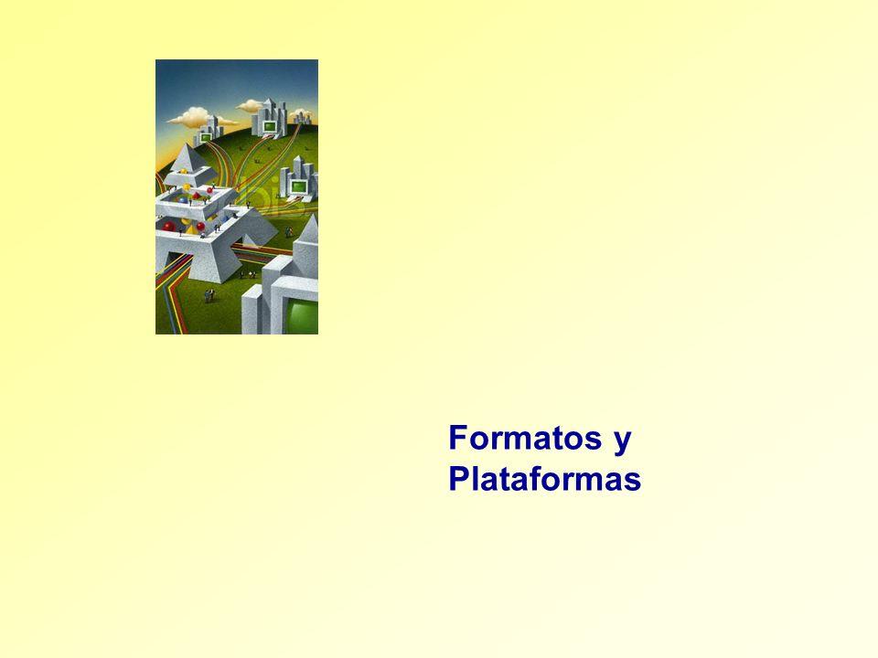 Formatos y Plataformas