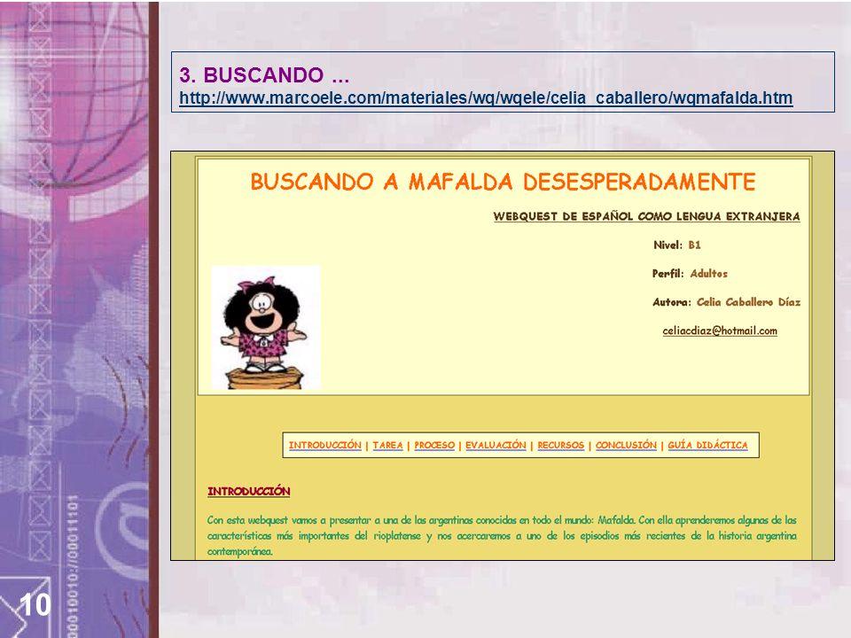 10 3. BUSCANDO...