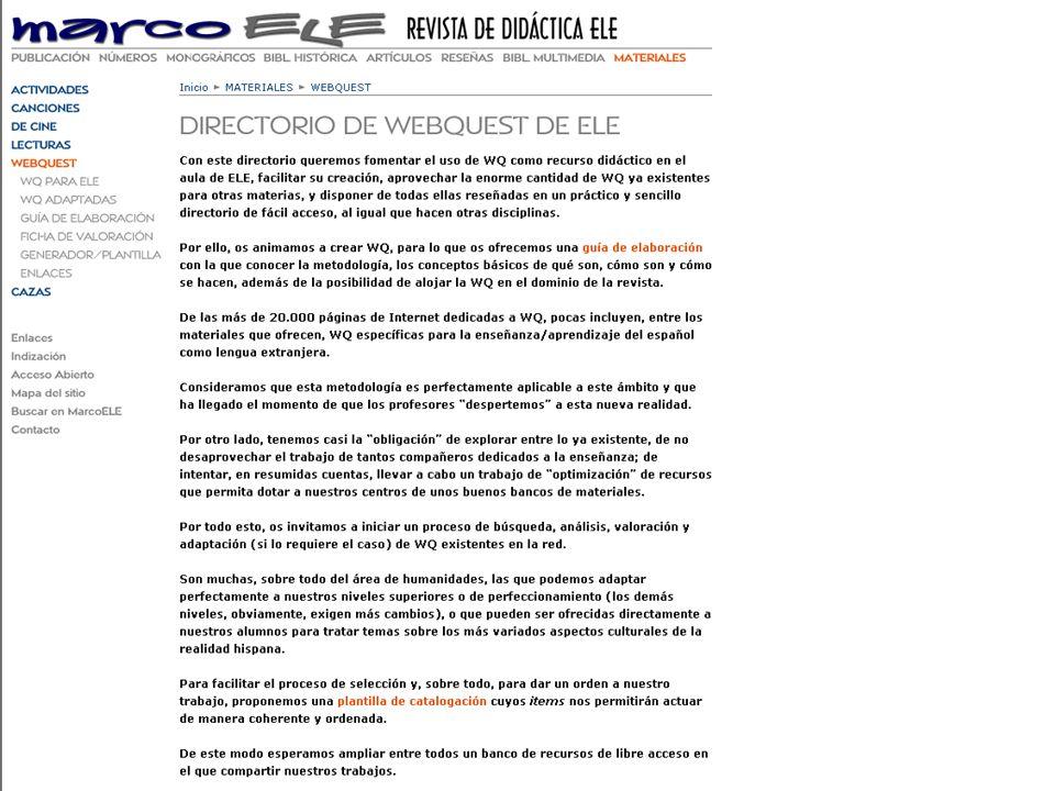5 1. WQ de ELE 2. WQ aplicables a ELE EJEMPLOS