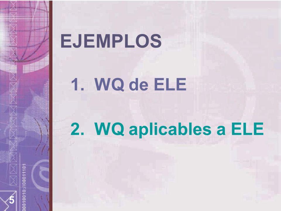 6 WQ ELE 1.