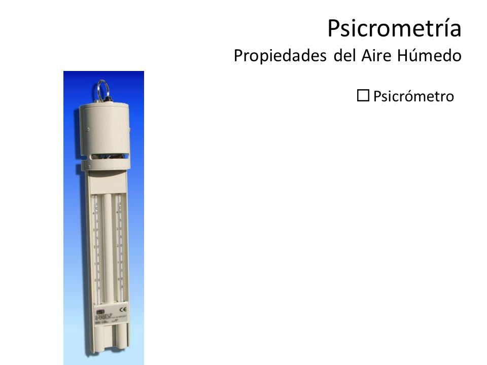 Psicrómetro