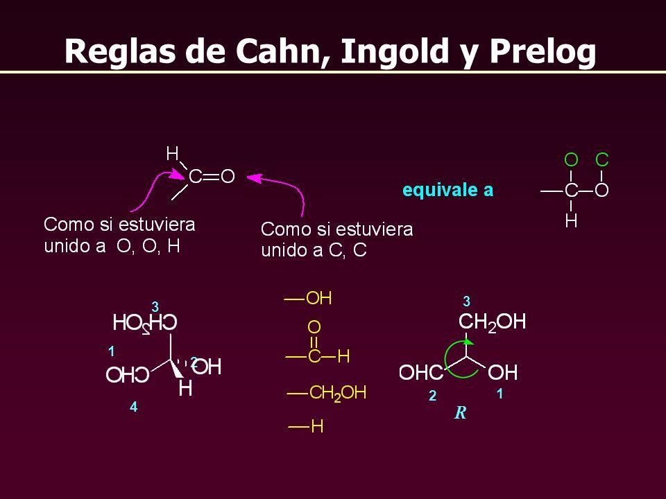 Reglas de Cahn, Ingold y Prelog 2 1 3 4 R 1 2 3