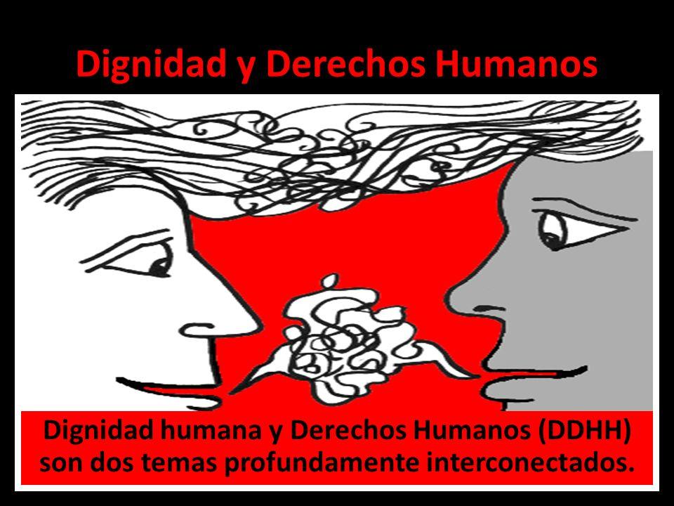 Dignidad y Derechos Humanos Dignidad humana y Derechos Humanos (DDHH) son dos temas profundamente interconectados.