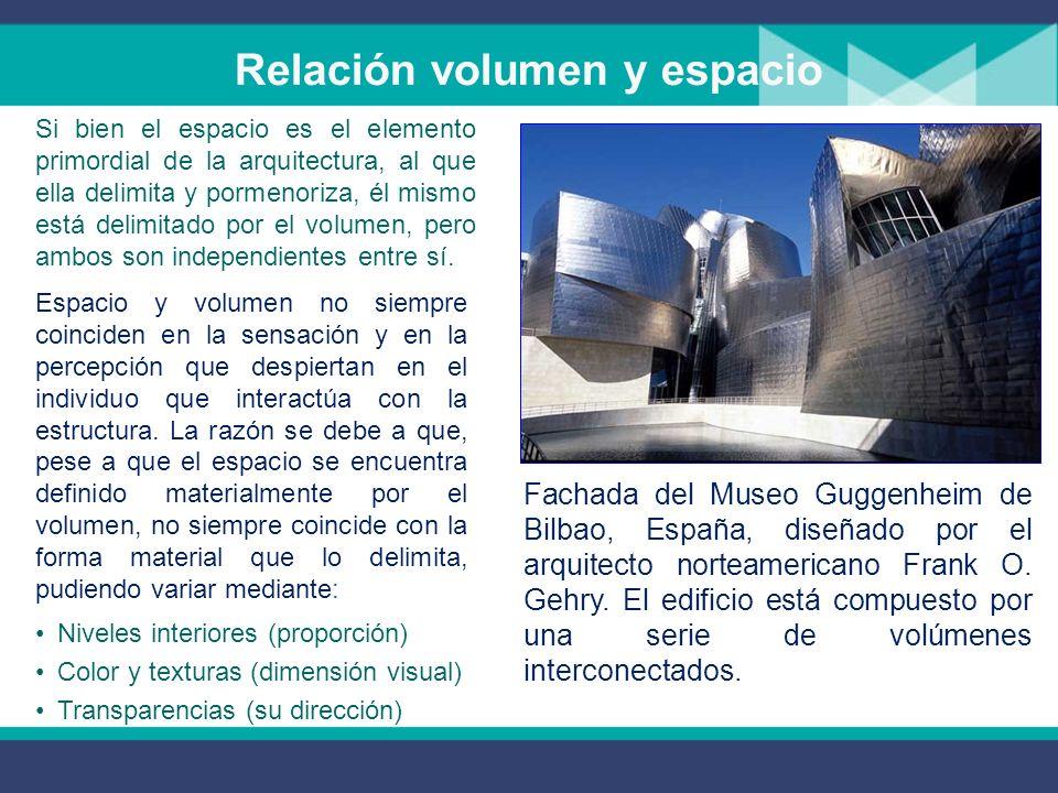 Espacio arquitectónico La concepción teórica del espacio arquitectónico no ha sido única a través del tiempo y de las diferentes culturas. Sin embargo