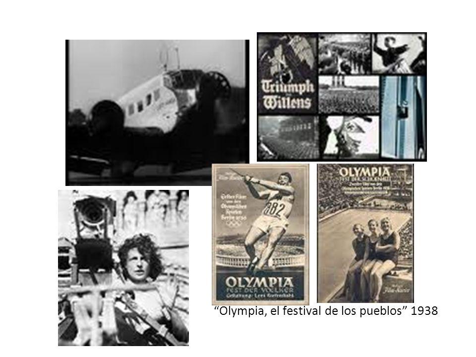 Olympia, el festival de los pueblos 1938