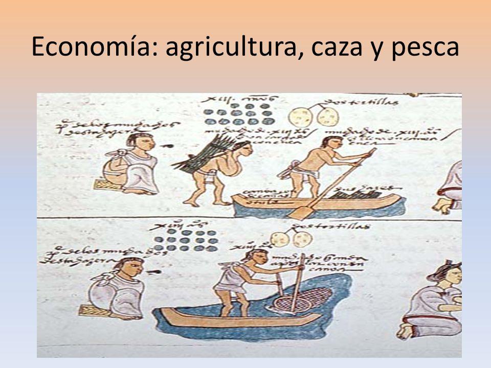 Economía: agricultura, caza y pesca