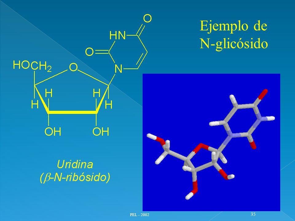 PEL - 2002 35 Ejemplo de N-glicósido