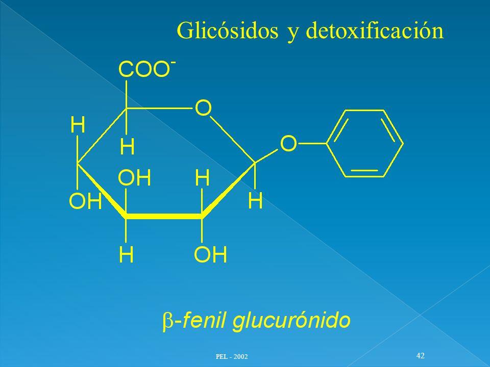 PEL - 2002 42 Glicósidos y detoxificación