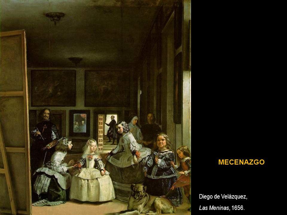 Diego de Velázquez, Las Meninas, 1656. MECENAZGO