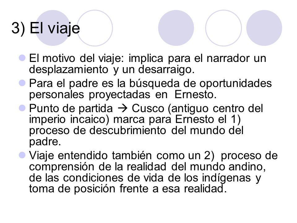 4) Pasado Ernesto es un ser consagrado a la tarea de recordar.