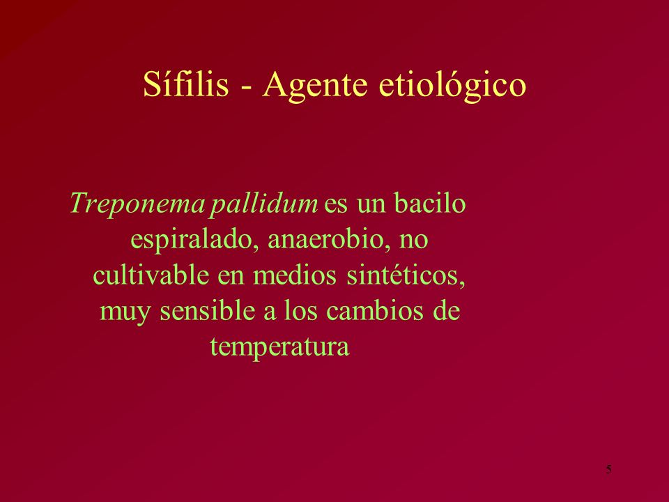 6 Sífilis - Patogenia