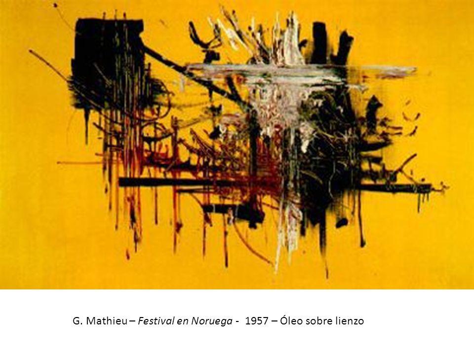 Asger Jorn – El delincuente - 1956 – Óleo sobre tela – 114 x 146 cm