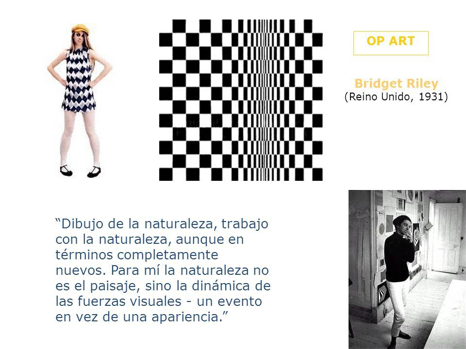 Bridget Riley Movimiento en cuadrados 1961 Víctor Vasarely (Hungría 1906-1997) Tlinko-F 1956-62