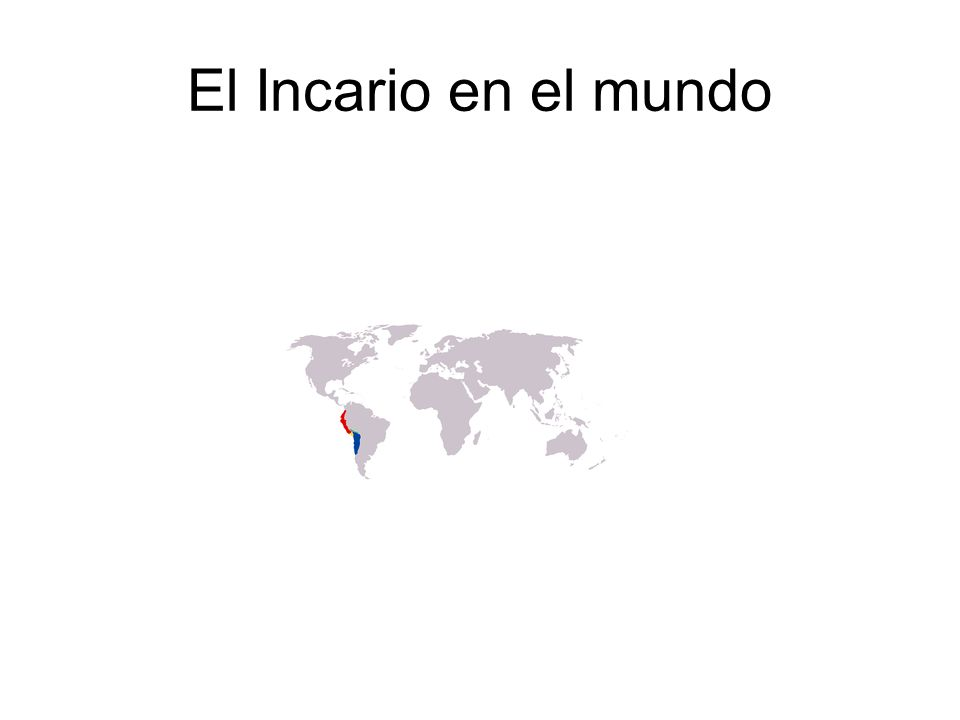 El Incario en el mundo