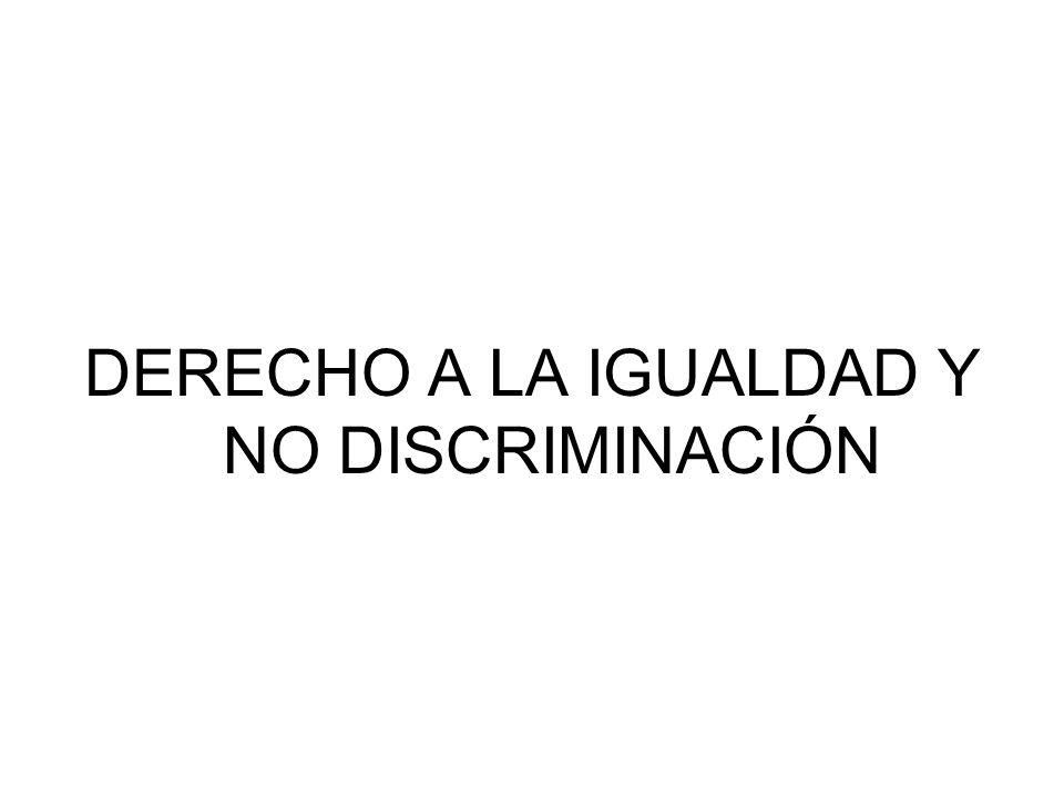 Unidad 2 Discriminación.
