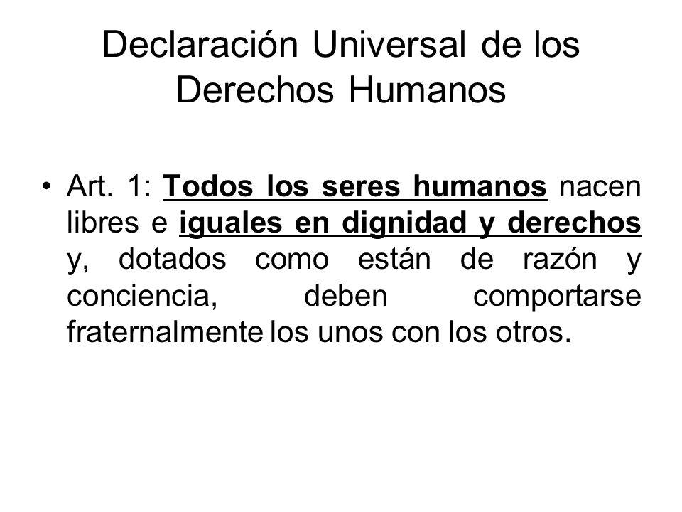 Convención Americana de Derechos Humanos Art.