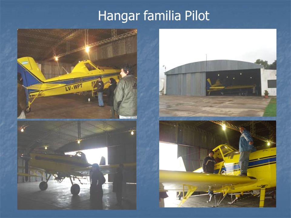 Hangar familia Pilot