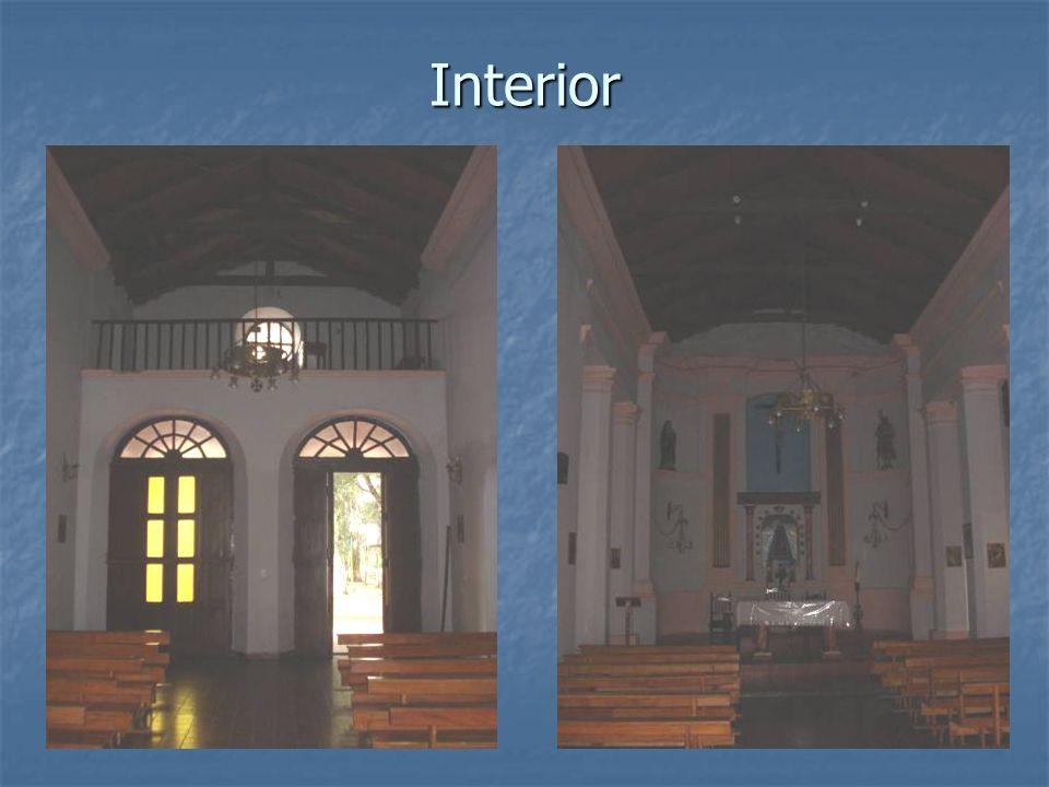 Interior Detalle altar Sagrario