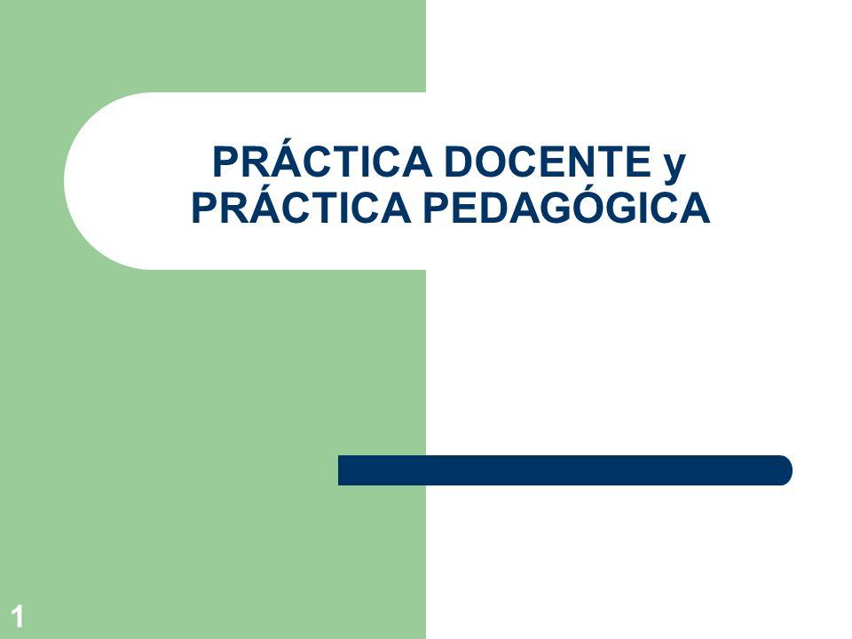12 Características de las prácticas de enseñanza como prácticas sociales Constituyen una actividad intencional en tanto se definen como una intervención.