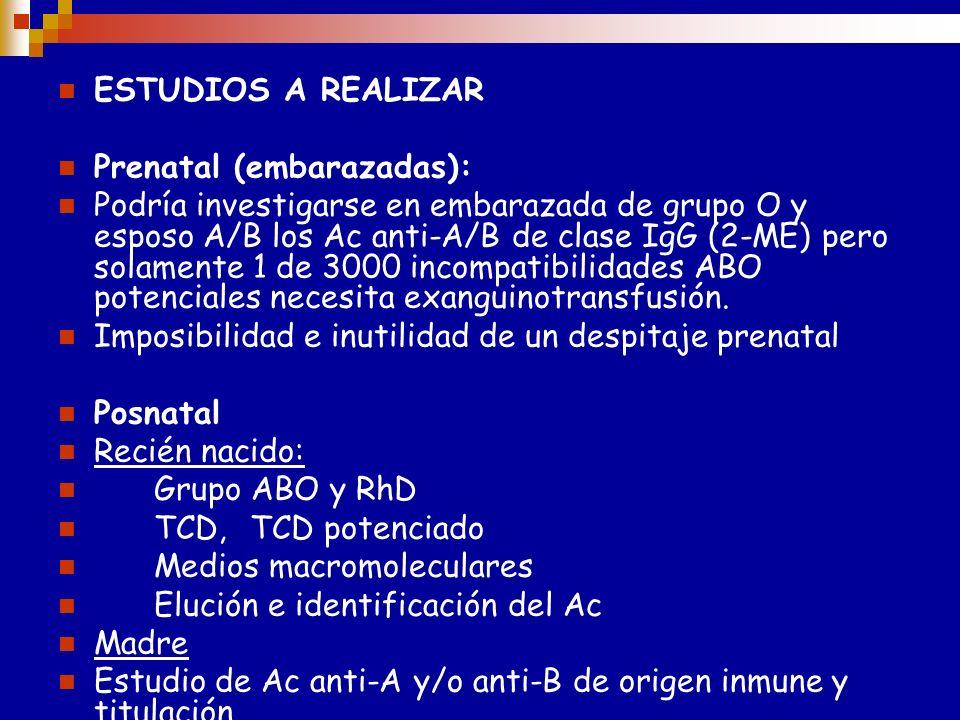 MECANISMOS DE ACCIÓN DE LOS ACS MATERNOS * Hemólisis moderada ( no hay formas graves ) * Neutralización parcial de Acs por las células endoteliales, v
