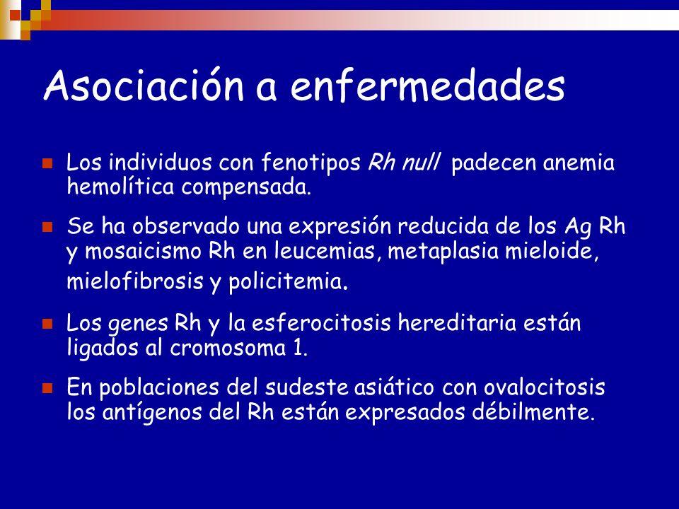 Especificidades Anti-D: es el mas frecuente. Puede causar RT y EHFN severa. Anti-c: muy frecuente. Puede causar RT y EHFN severa. Anti-E: muy frecuent