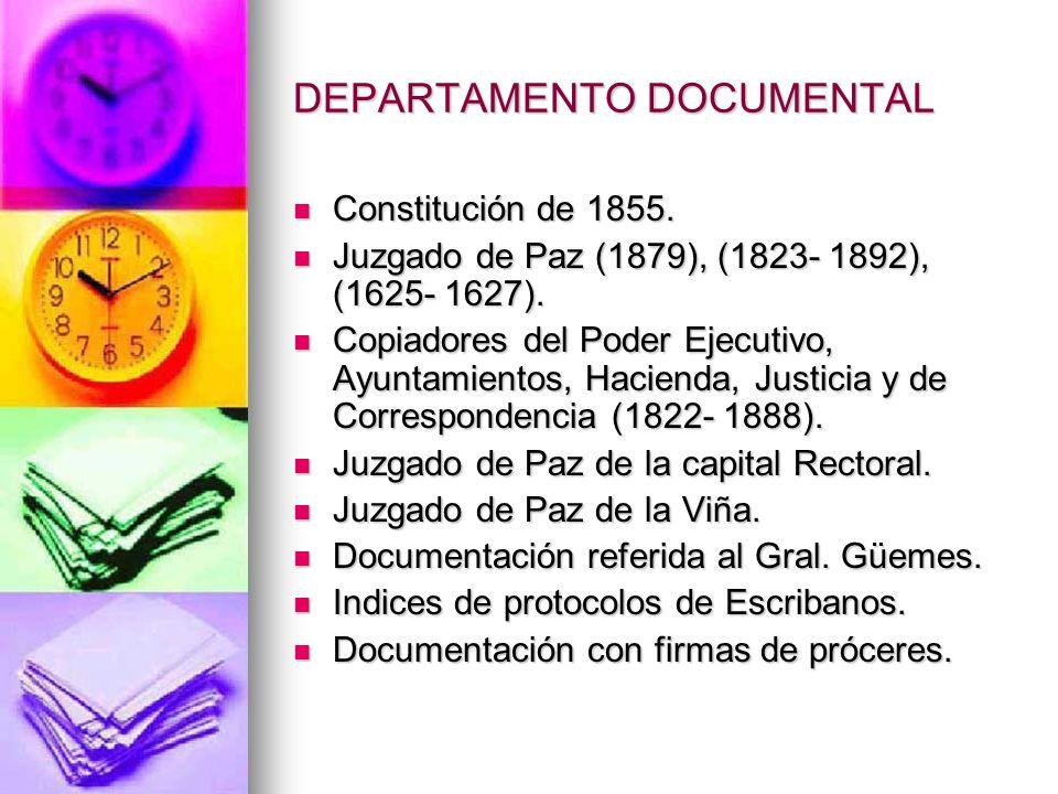 DEPARTAMENTO DOCUMENTAL Constitución de 1855. Constitución de 1855.