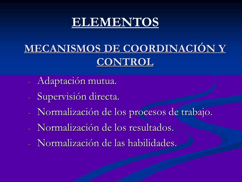 ORGANIZACIÓN MATRICIAL Consiste en combinar dentro de la misma estructura organizacional las formas de departamentalización funcional y por productos, con el objetivo de arribar a un correcto resultado final.