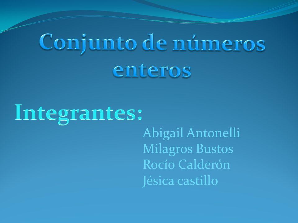 Abigail Antonelli Milagros Bustos Rocío Calderón Jésica castillo