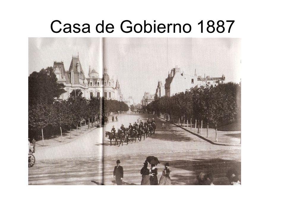 Casa de Gobierno 1887