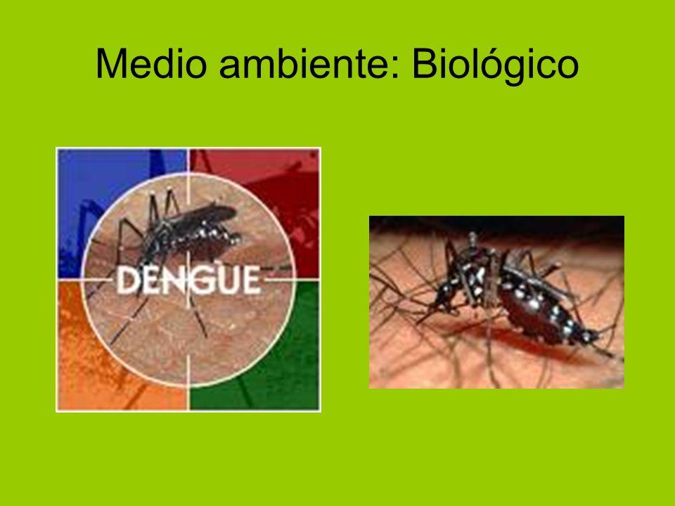 Medio ambiente: Biológico