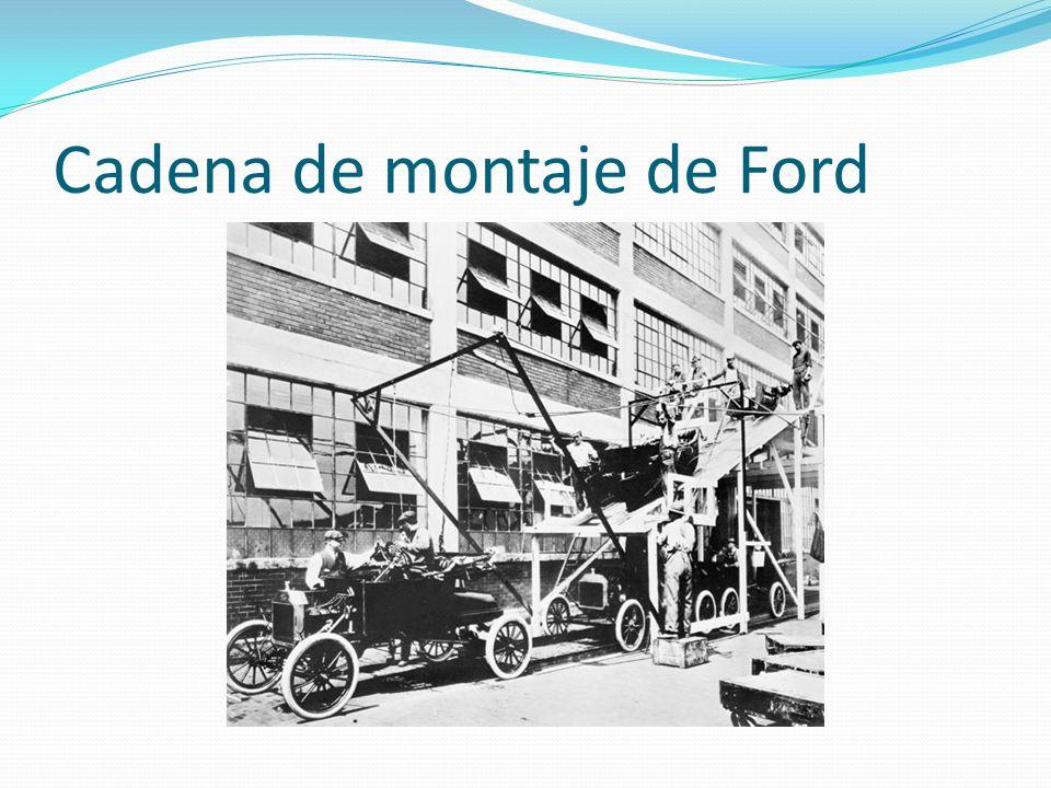 Cadena de montaje de Ford