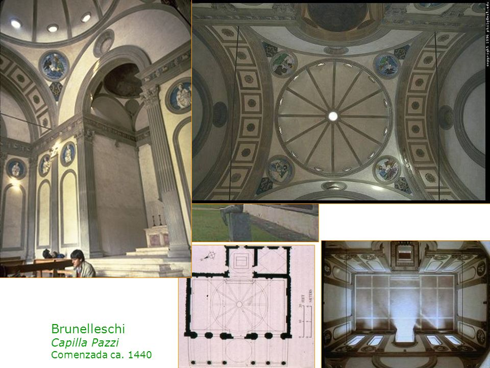 Brunelleschi Capilla Pazzi Comenzada ca. 1440