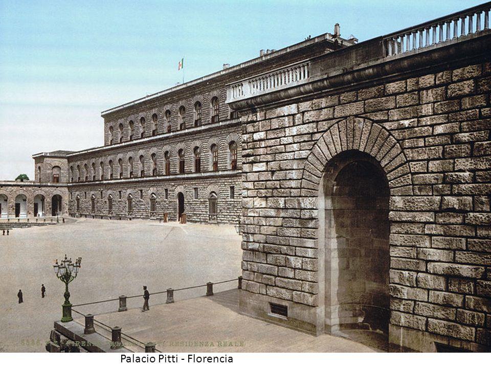 Palacio Pitti - Florencia