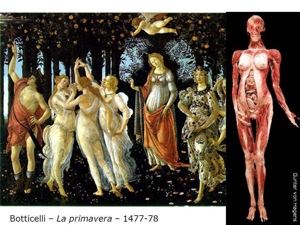 Botticelli – La primavera – 1477-78 Gunter von Hagens