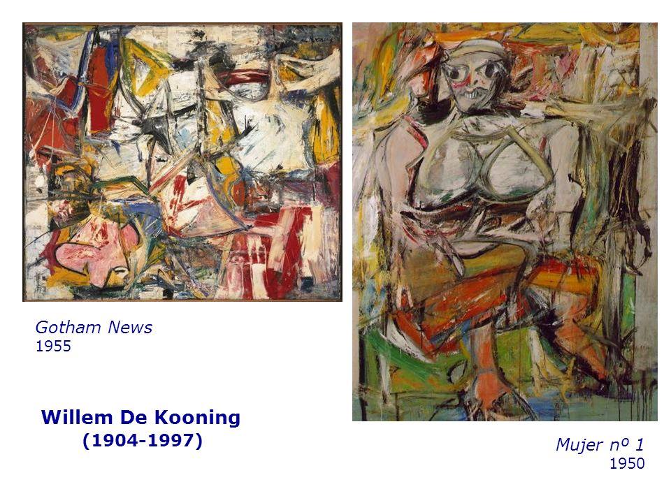 Willem De Kooning (1904-1997) Mujer nº 1 1950 Gotham News 1955