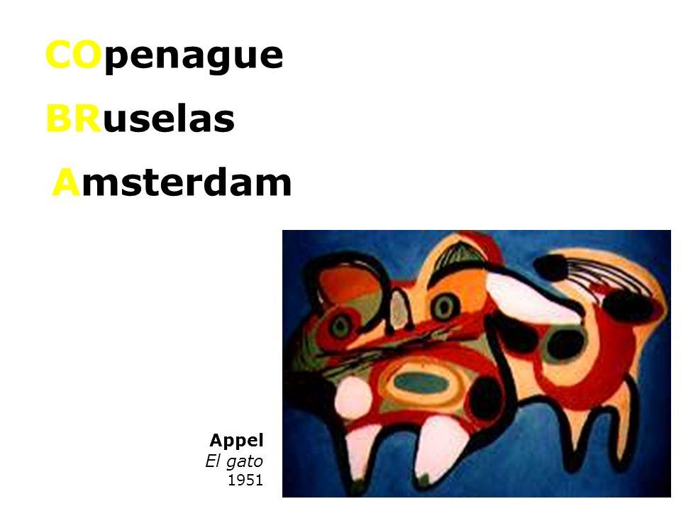 COpenague BRuselas Amsterdam Appel El gato 1951