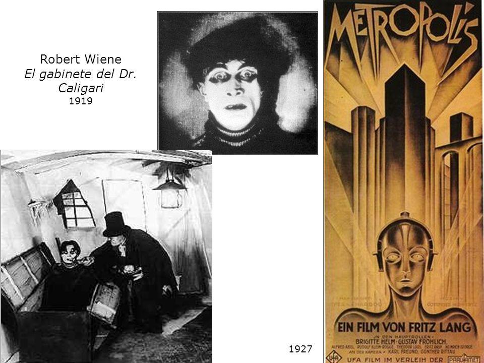 Robert Wiene El gabinete del Dr. Caligari 1919 1927
