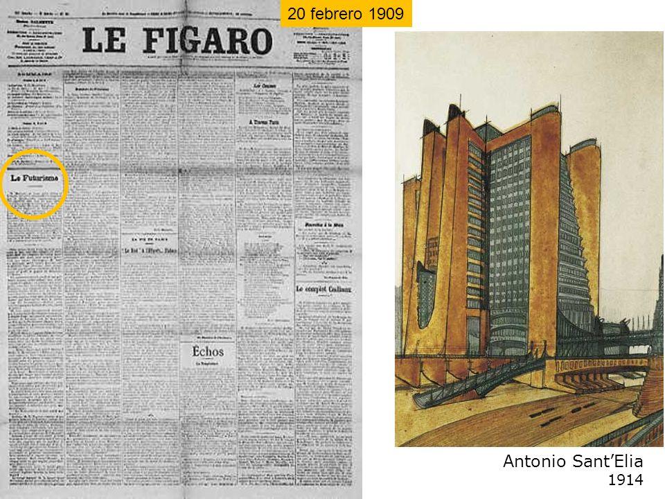 Antonio SantElia 1914 20 febrero 1909