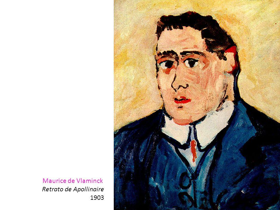 Maurice de Vlaminck Retrato de Apollinaire 1903