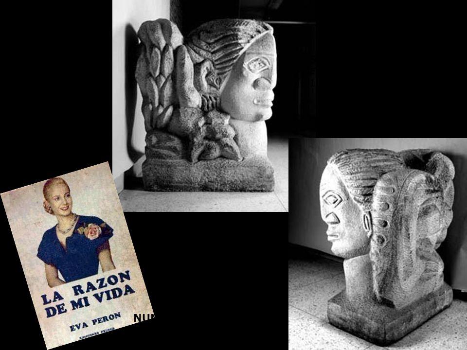 SESOSTRIS VITULLO Eva Perón, arquetipo símbolo 1952 NUMA AYRINHAC Evita 1950