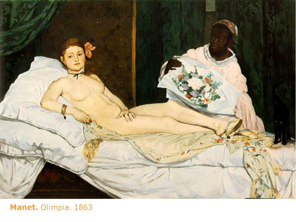 Manet. Olimpia. 1863