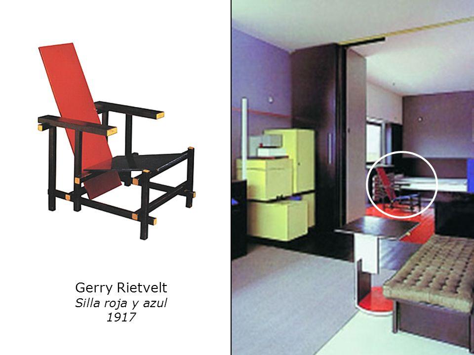 Gerry Rietvelt Silla roja y azul 1917