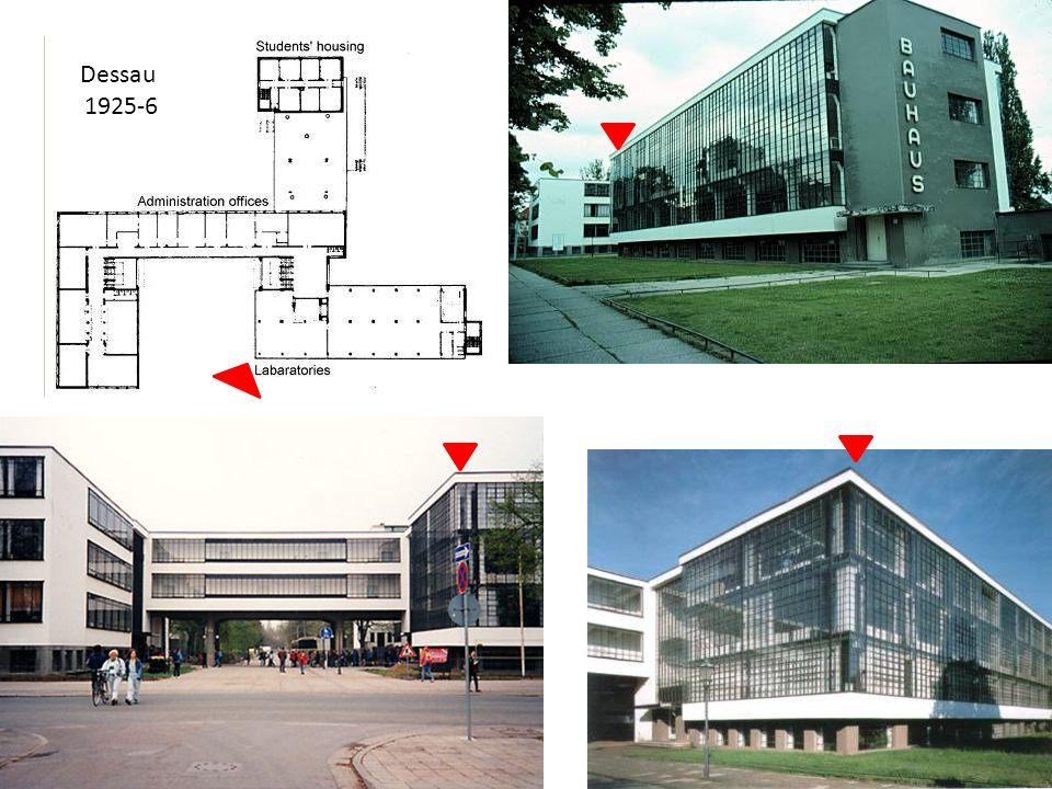 Dessau 1925-6