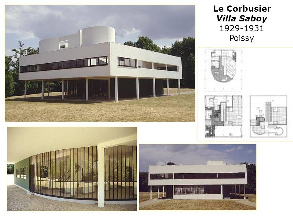Le Corbusier Villa Saboy 1929-1931 Poissy