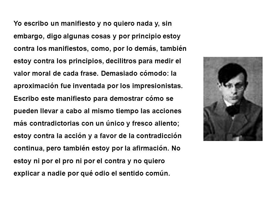 Azar 1916 Hans Arp Para hacer un poema dadaísta Tome un periódico.