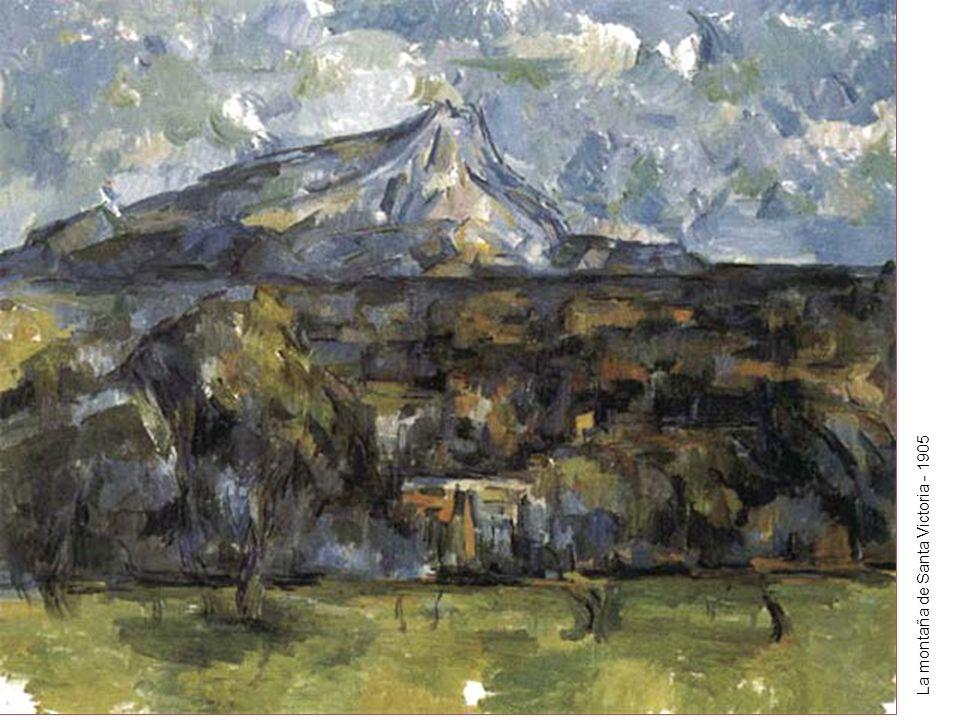 La montaña de Santa Victoria - 1905