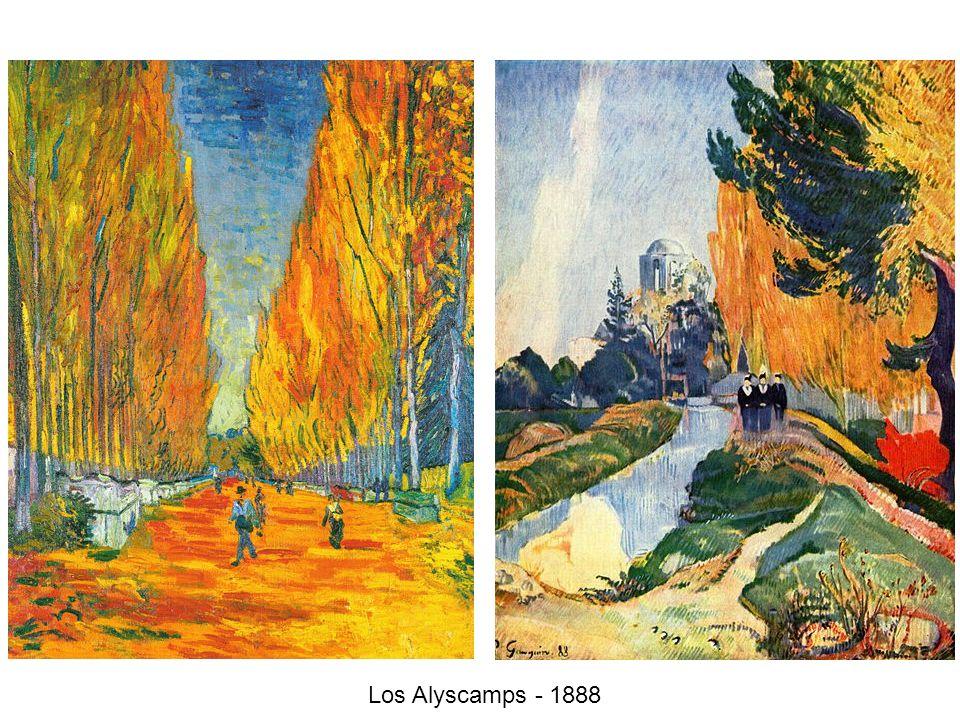 Los Alyscamps - 1888