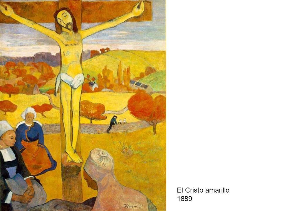 El Cristo amarillo 1889